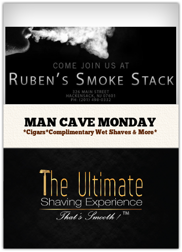man cave monday shave