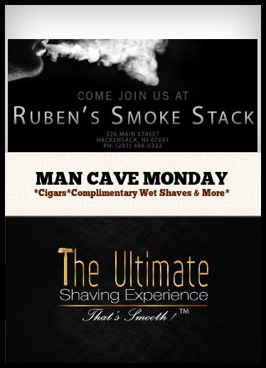 man cave monday shave